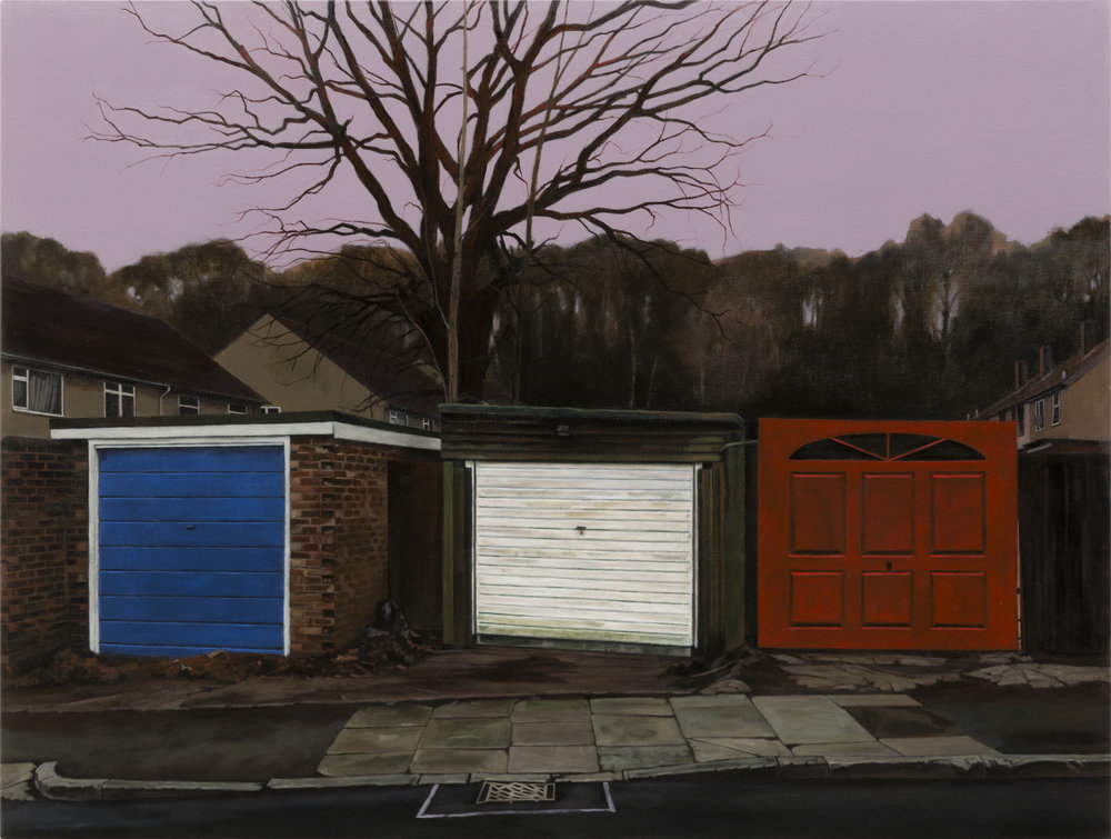 George Shaw, The Buildings of England, 2017
