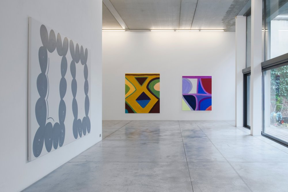 Amy Feldman et Marina Adams, 'Artemisia', galerie Albert Baronian, vue d'exposition. Image courtesy: galerie Albert Baronian