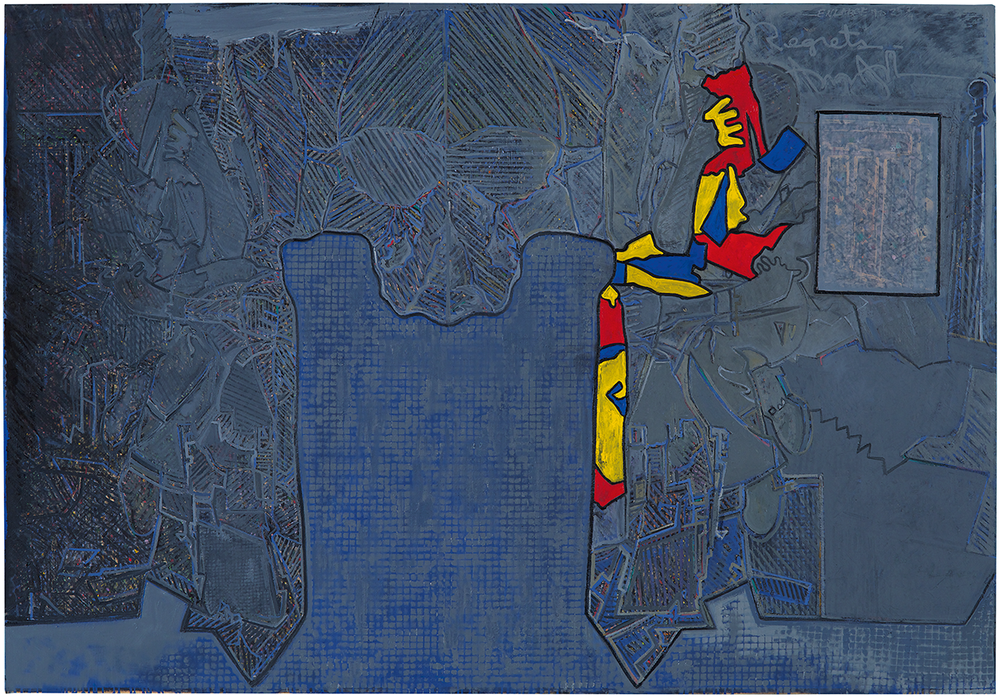 Jasper Johns, Regrets, 2013.