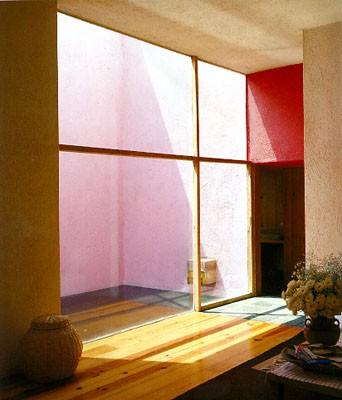 Interior of Casa Galvez, by Luis Barragan