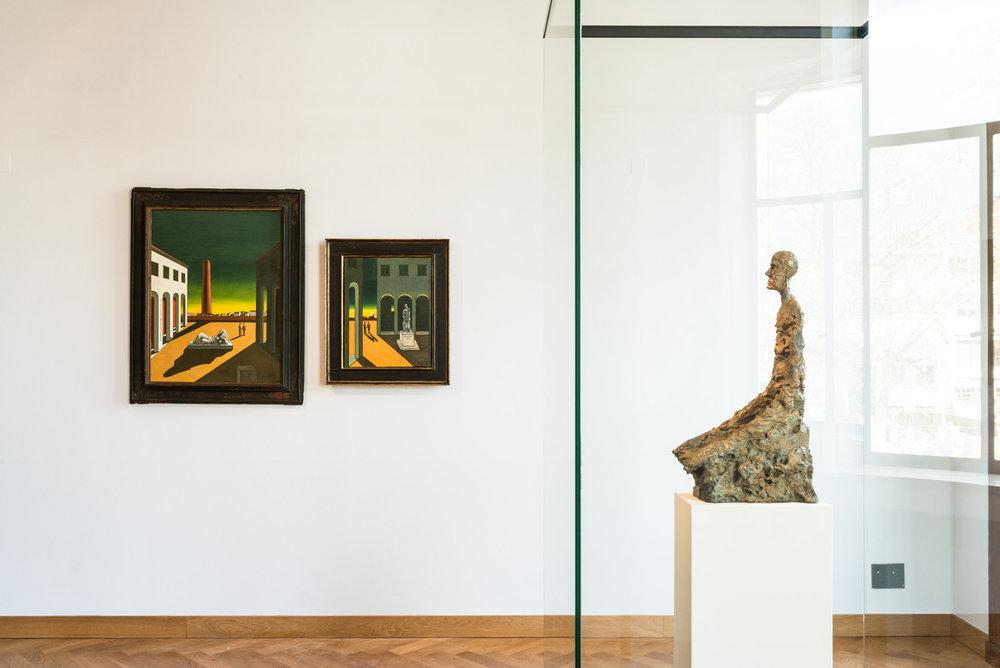 Giorgio de Chirico et Alberto Giacometti