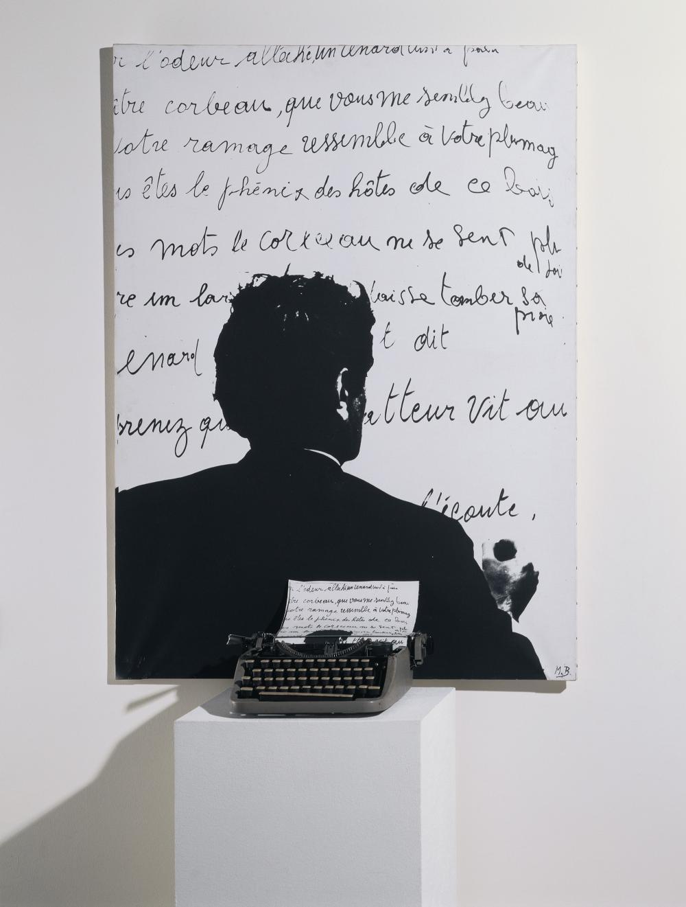 Marcel Broodthaers, Le corbeau et le renard, 1968