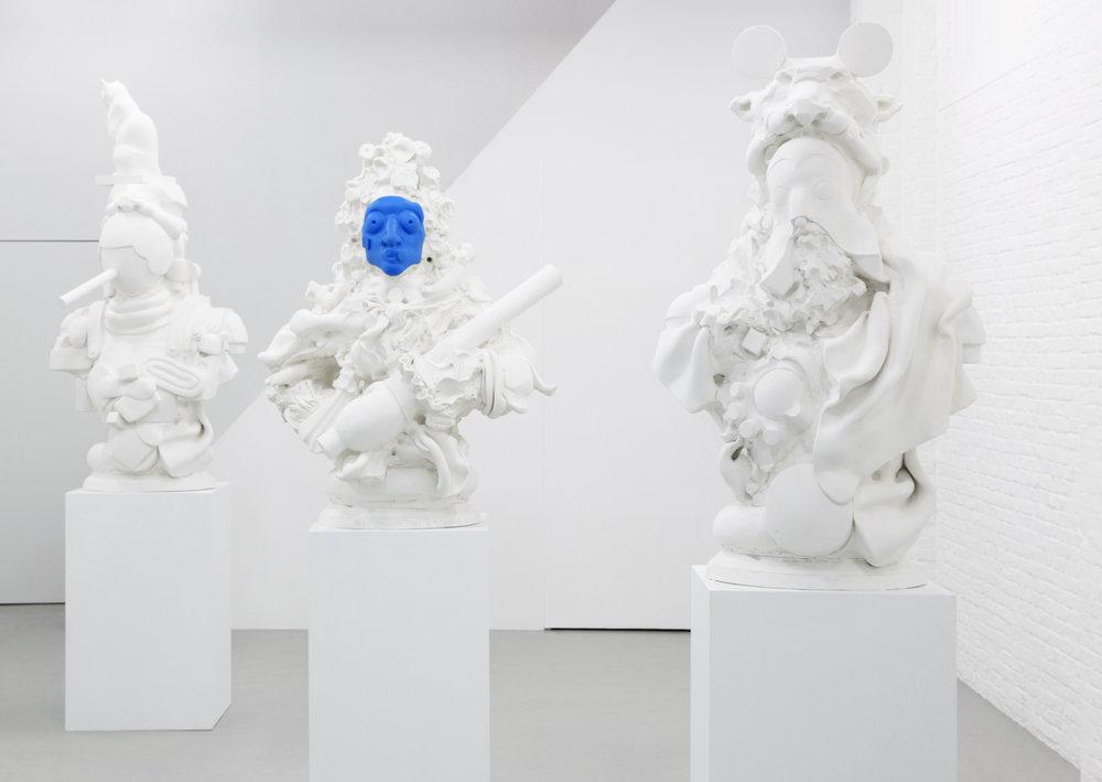 "Nadia Naveau, ""Deaf Ted"", 2014"