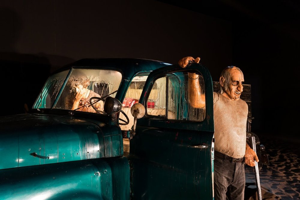 "Ed and Nancy Kienholz ""Five Car Stud"" (1969-1972). Image courtesy: M HKA"