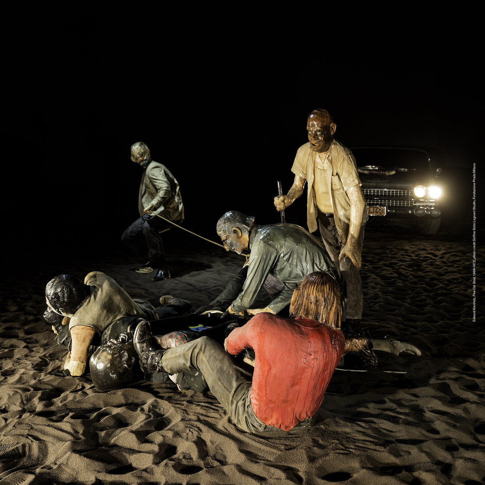 "Ed and Nancy Kienholz, ""Five Car Stud"" (1969-1972)"