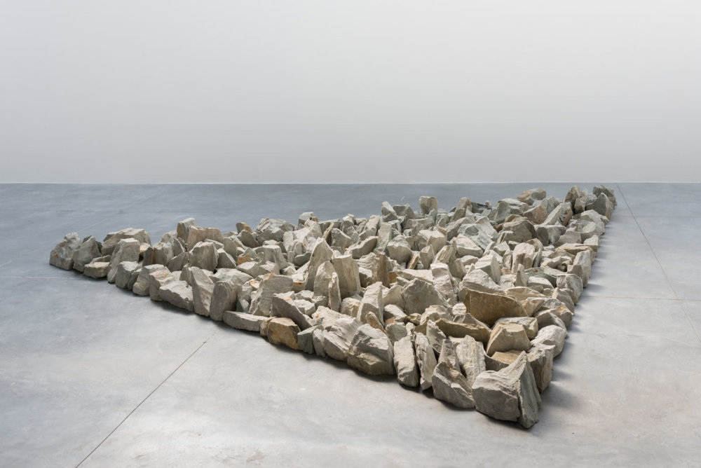 Richard Long, Münsterland Stones, 2008, Anröchter Grüsandstein