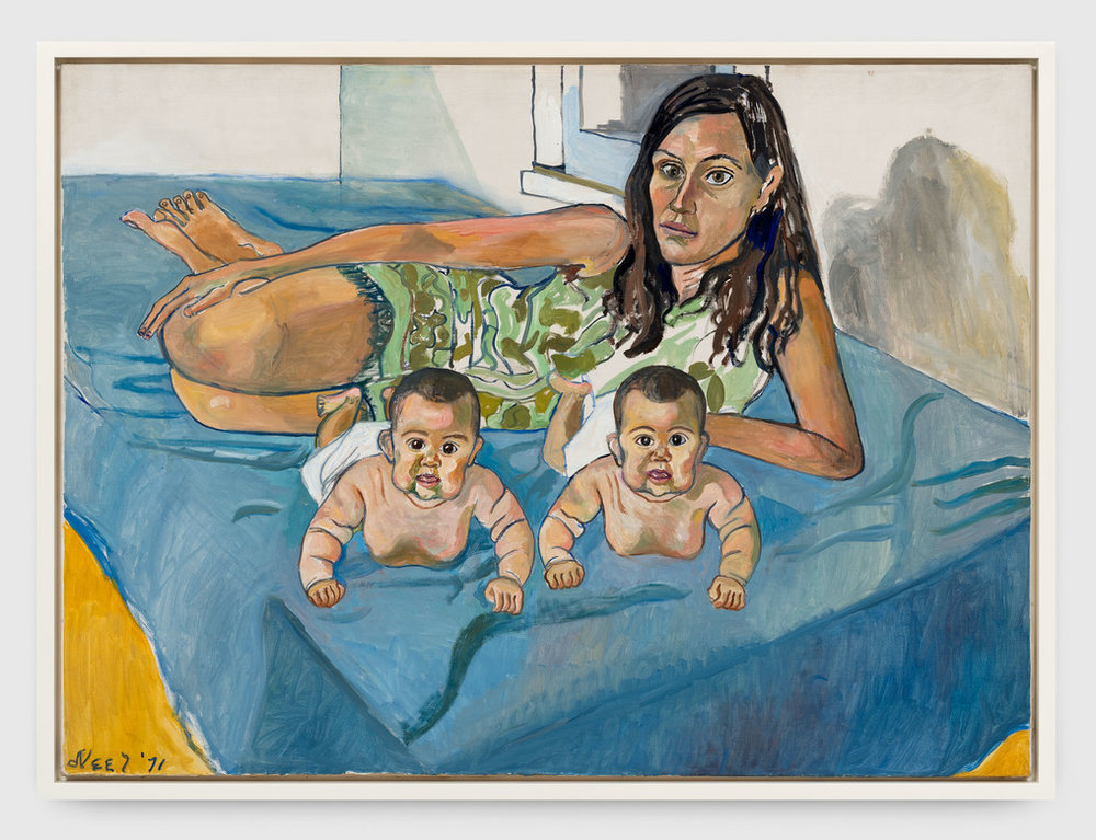 Nancy and the Twins (5 months), 1971