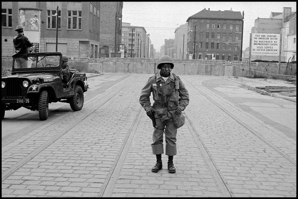 West Berlin, Germany. 1962. © Leonard Freed/Magnum Photos