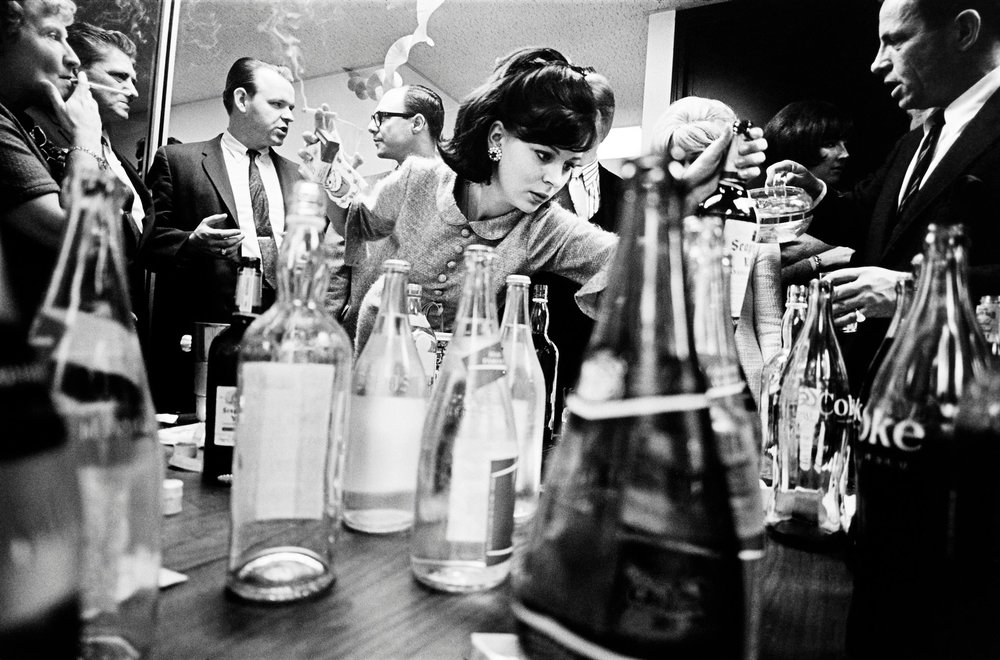 New York City. 1966. Office Party