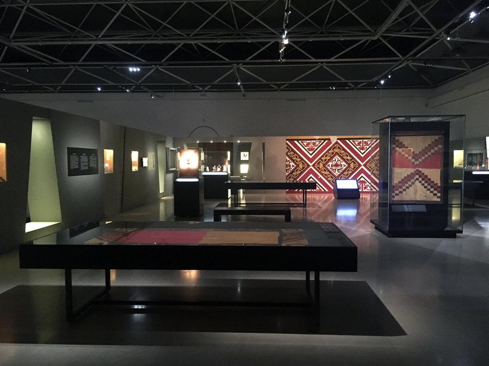 Inca Dress Code , Musée Art & Histoire, vue d'exposition
