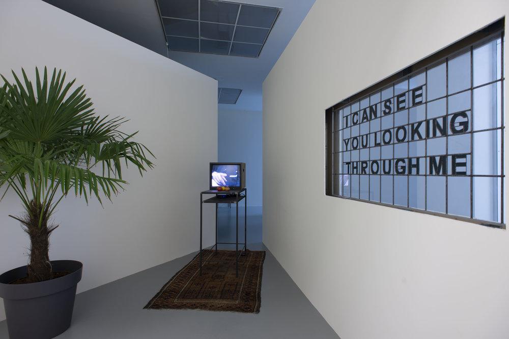 Laure Prouvost,  AM-BIG-YOU-US LEGSICON , vue d'exposition M HKA, image courtesy M HKA