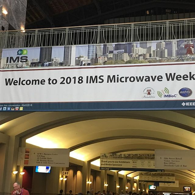 Visiting IMS2018. #lua #maker #makered #makerspace #fablab #learning #electronics #engineering #robotics #robot #diy #stem #makerfaire #arduino #arrowelectronics #phillymakerfaire