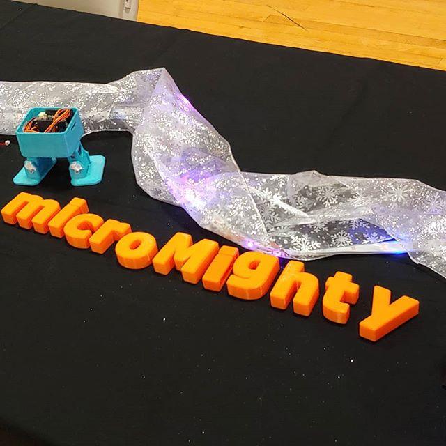 Mercer-Bucks mini Maker Faire! #maker #makerfaire #robot #diy #3dprinting #lua #fablab #makered