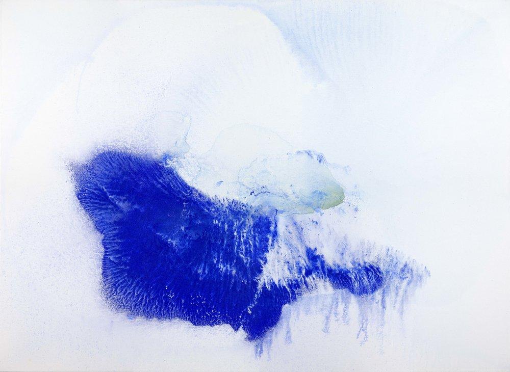 Nebesa, 2016, akryl na plátně, 120×170 cm