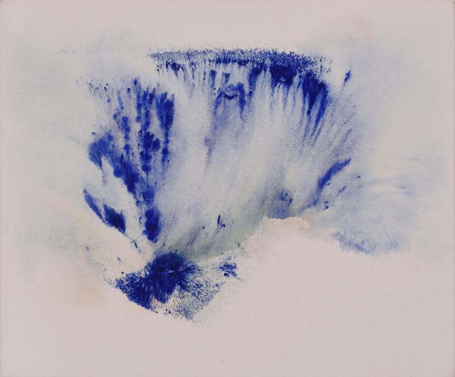 Vodopády, 2015, akryl na plátně, 50×60 cm