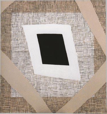 bez názvu, 1988, olej, plátno,  130×125 cm