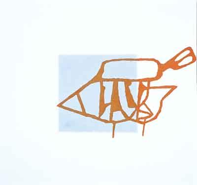 Raketoplán, 2001, olej na plátně, 190×200 cm