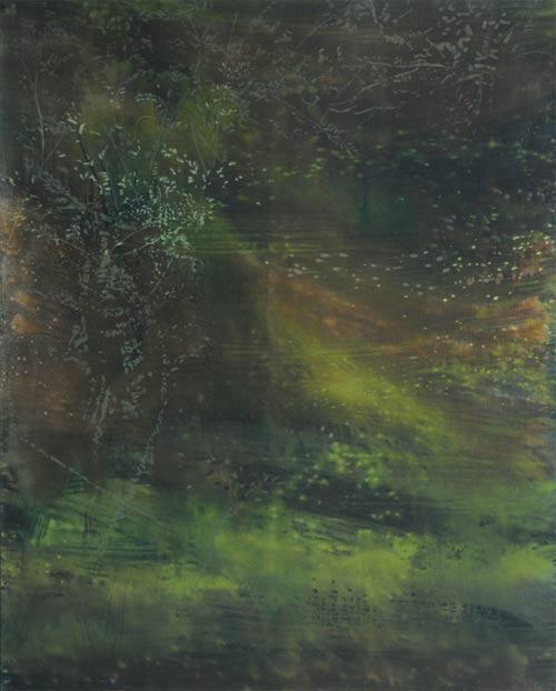 Tišina, 2007,  akryl na plátně,  250 x 200 cm