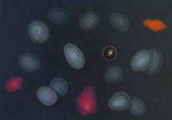 Malý vesmír, 2005, olej na plátně, 90×125 cm