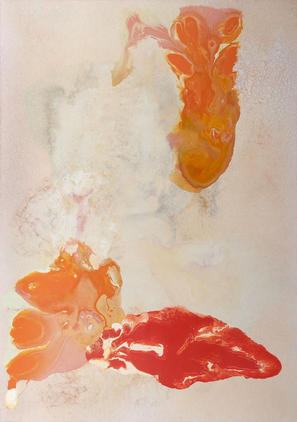 Přízrak, akryl a olej na plátně, 170x120 cm, 2015-2017