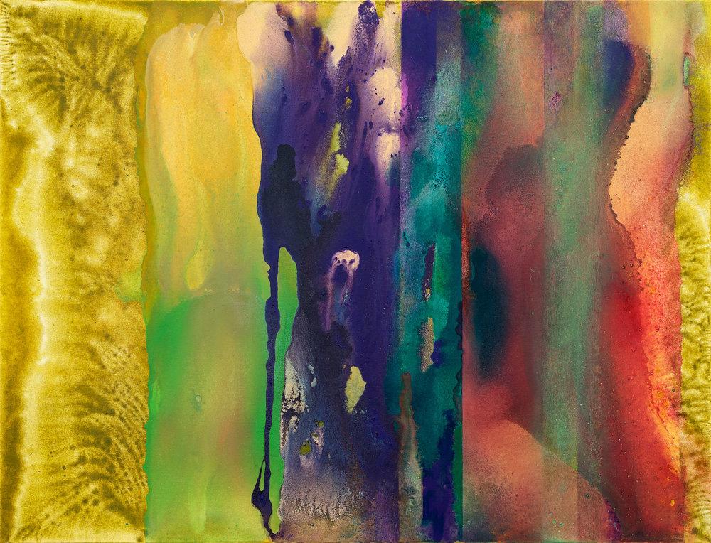 Afrika 3, 2018, akryl na plátně, 90x120 cm
