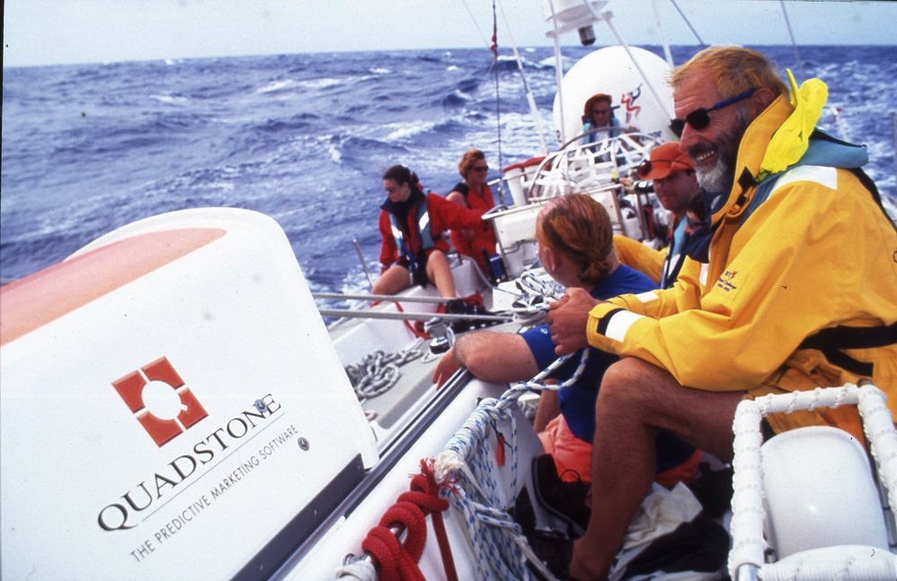 Watch Captain on the Worlds Toughest Yacht Race