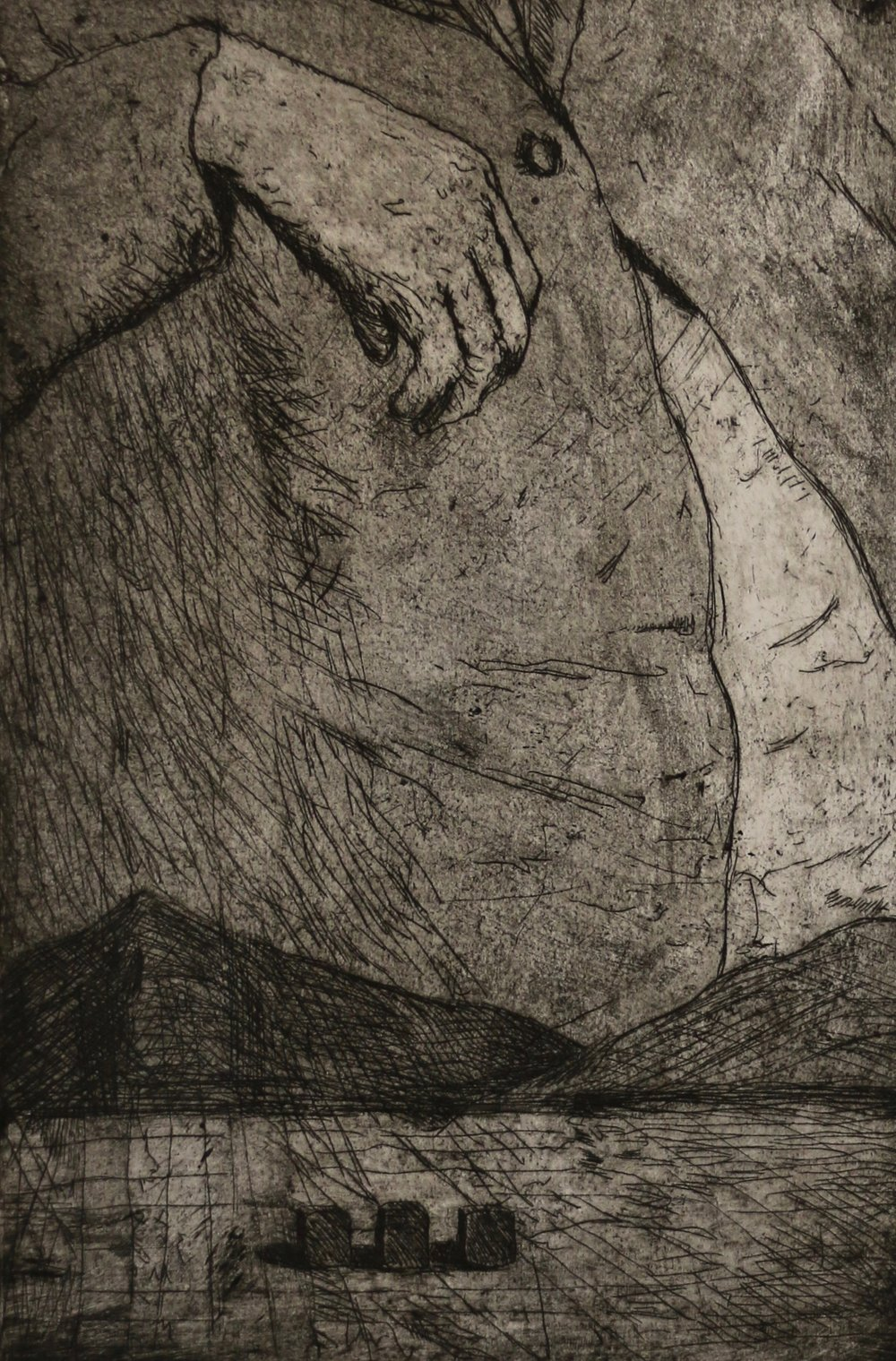 Intro to printmaking-Intaglio-Spring 2016
