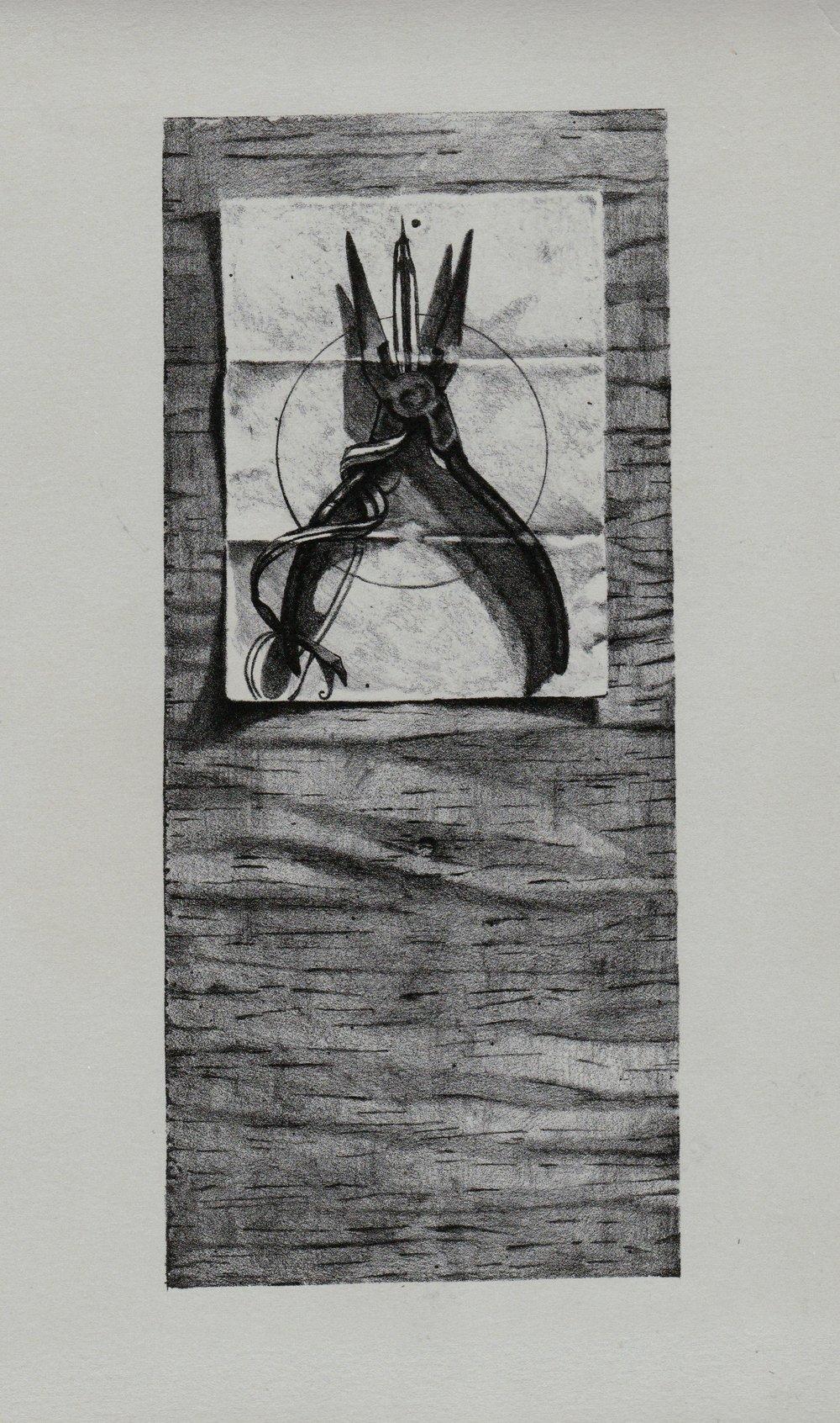 Stone Lithograph_13''x9''_2009