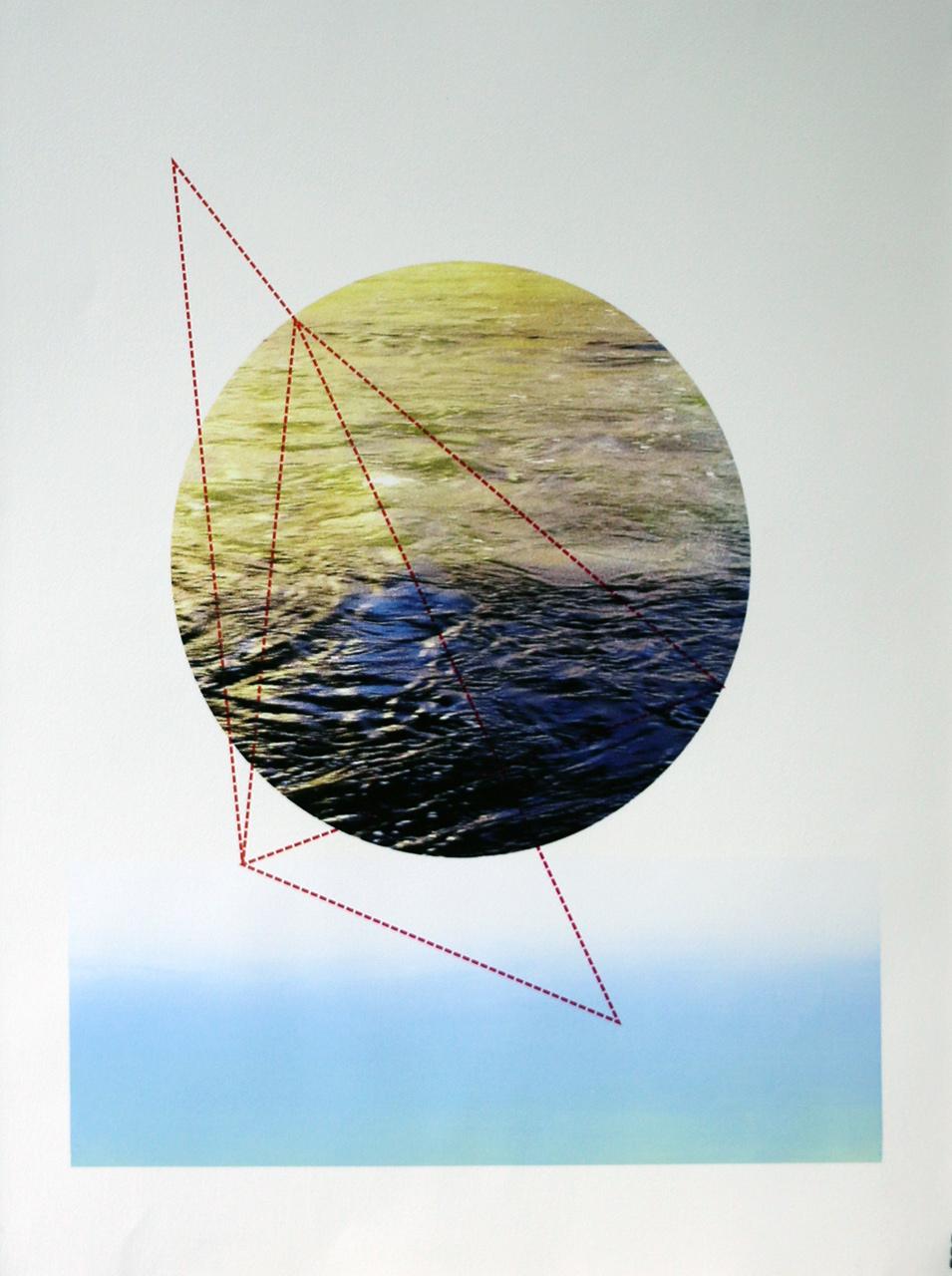 "Serigraphy, 30""x22"", 2018"