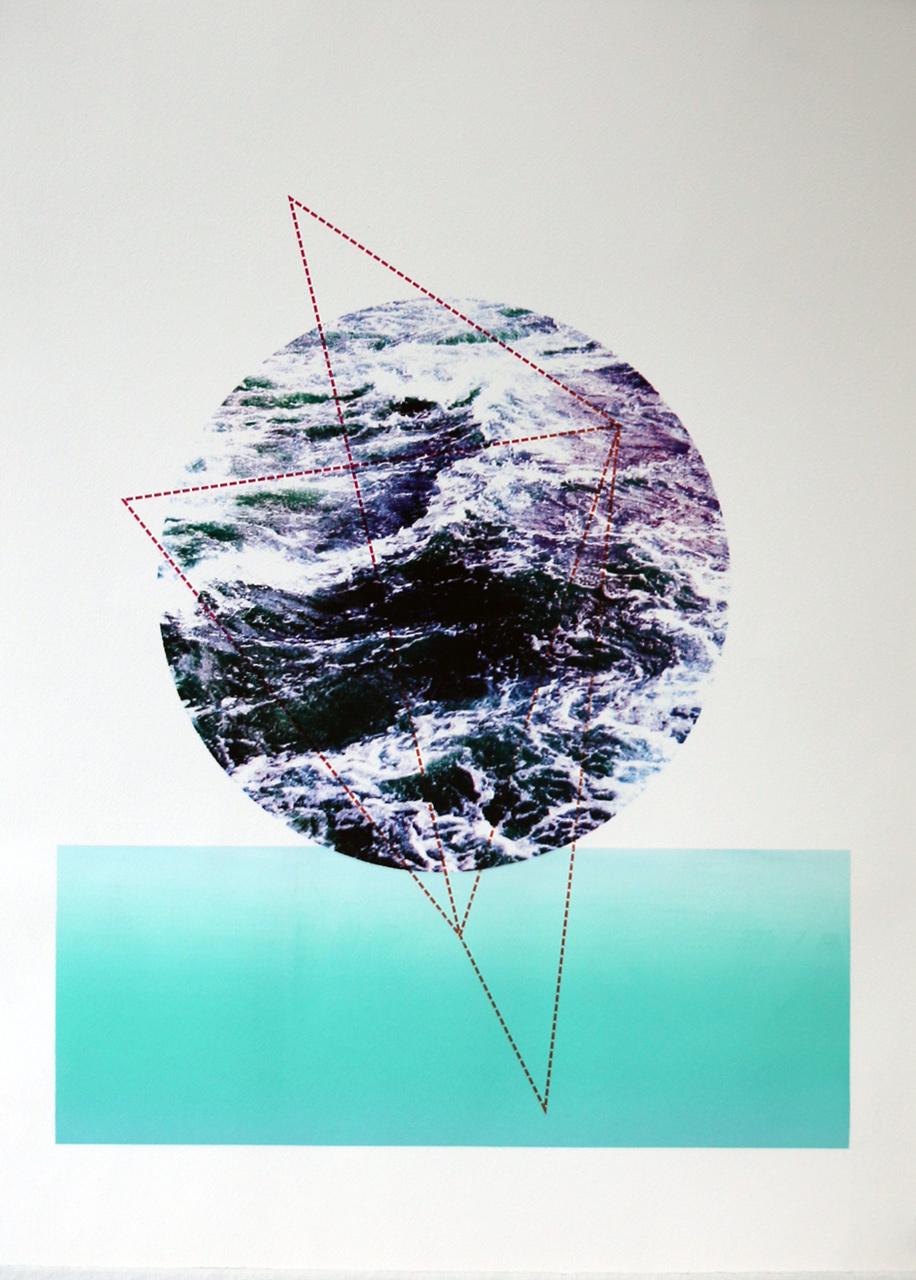 "Serigraphy, 30'x22"",2018"