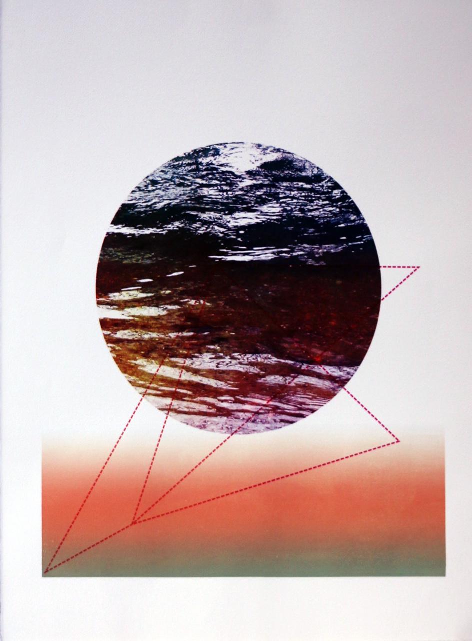 "Serigraphy, 30""x22"",2018"