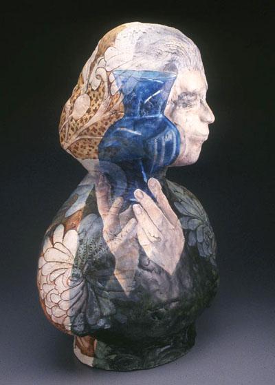 Blue Glass Vase 2003