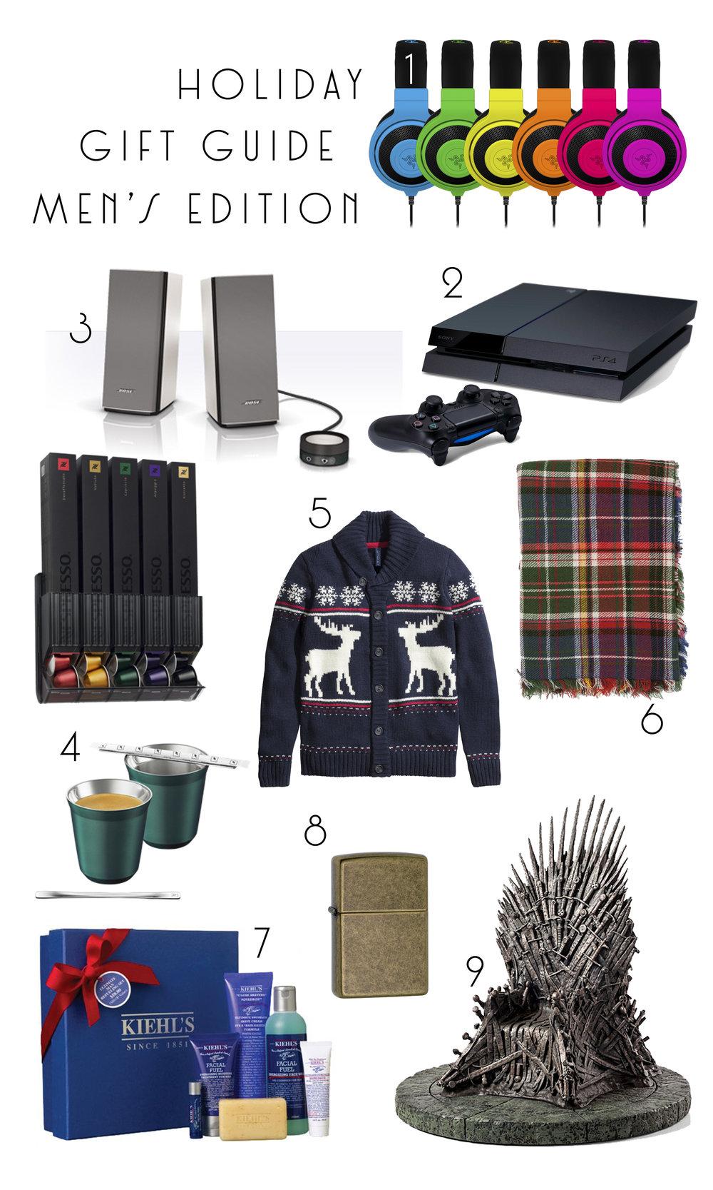 Christmas Gift Guide - HIS Edition