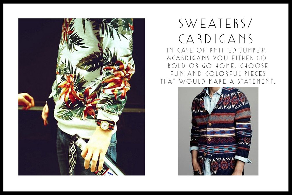 SWEATERS-prints edition