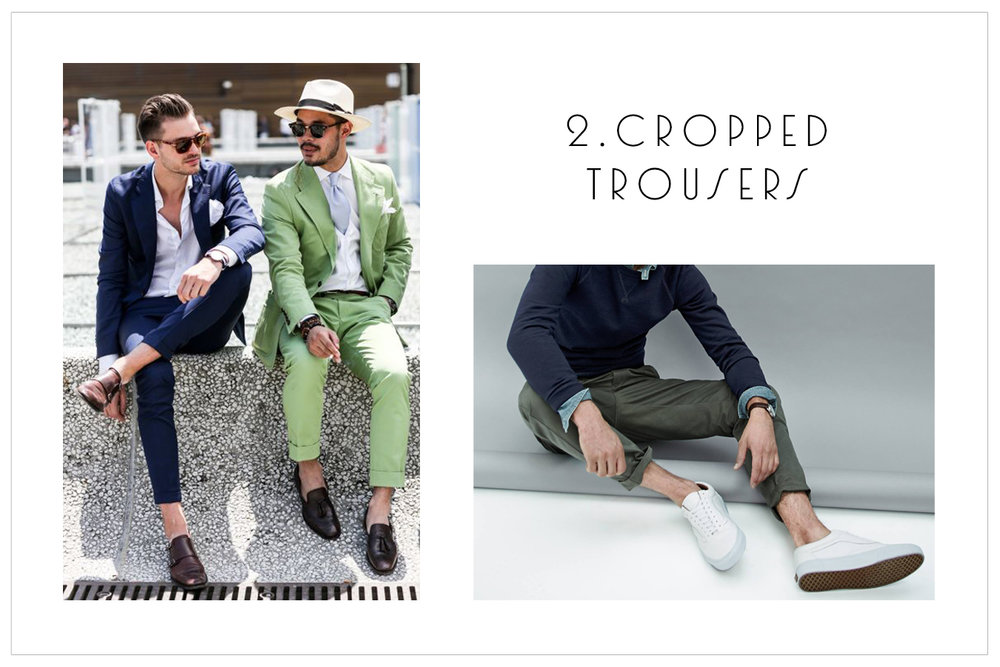 2.Cropped Trousers