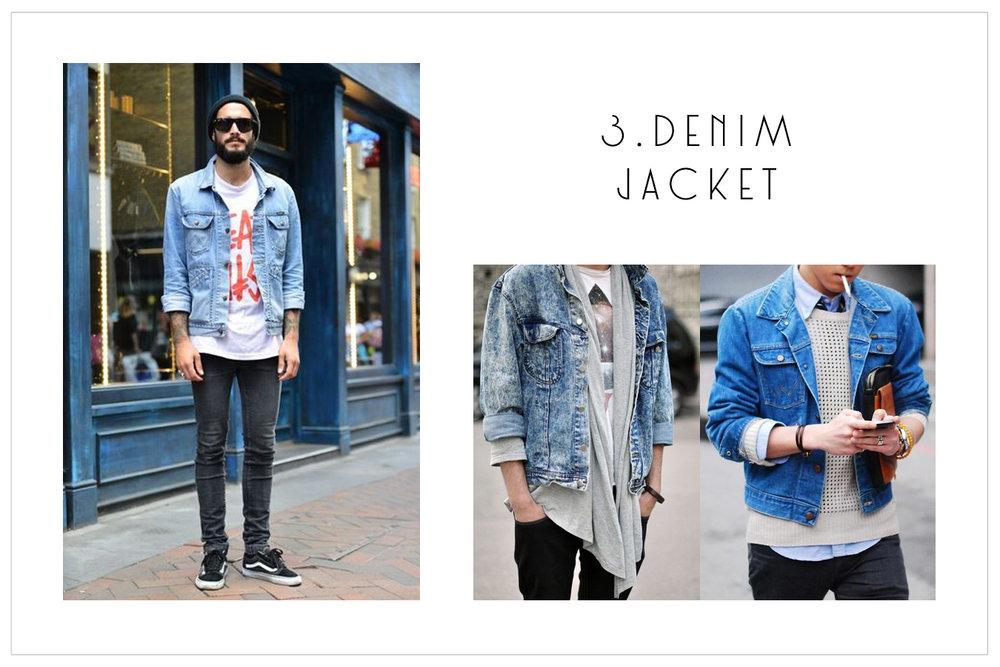3.Denim Jacket