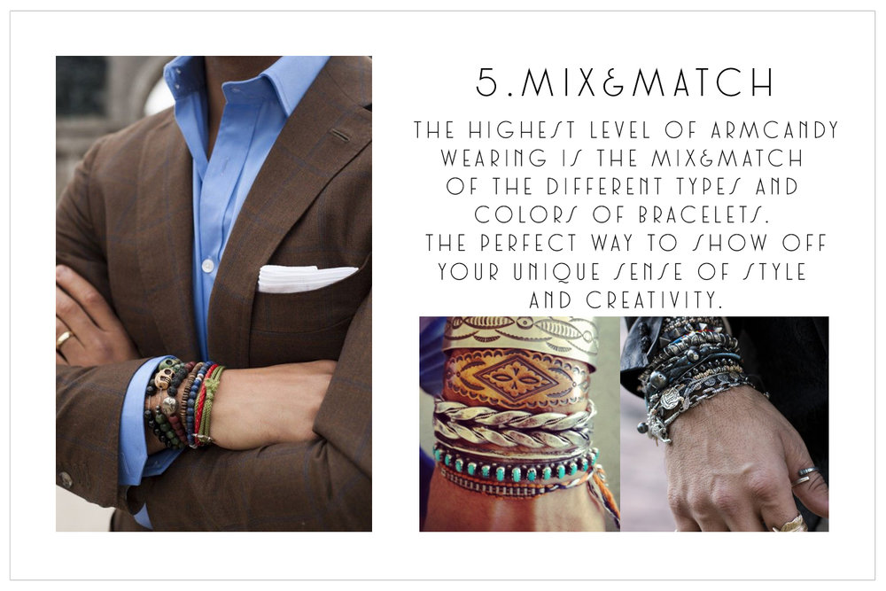 5.Mix and match