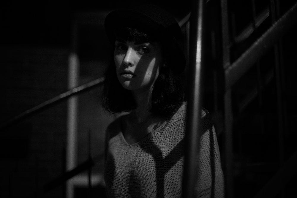 Marianne, la nuit.