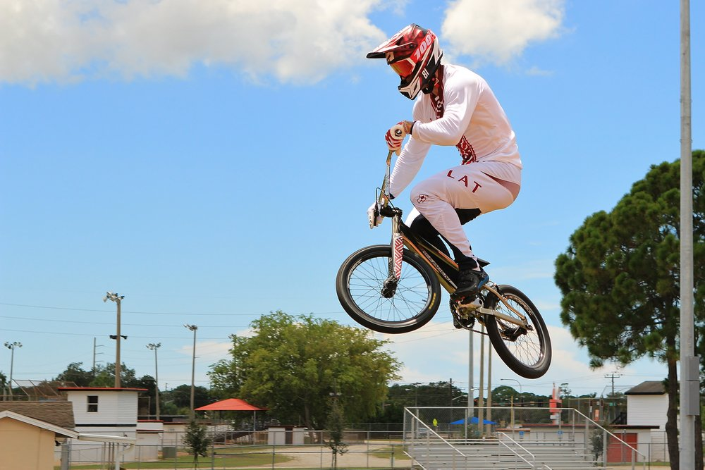 The Machine at the Sarasota BMX Academy