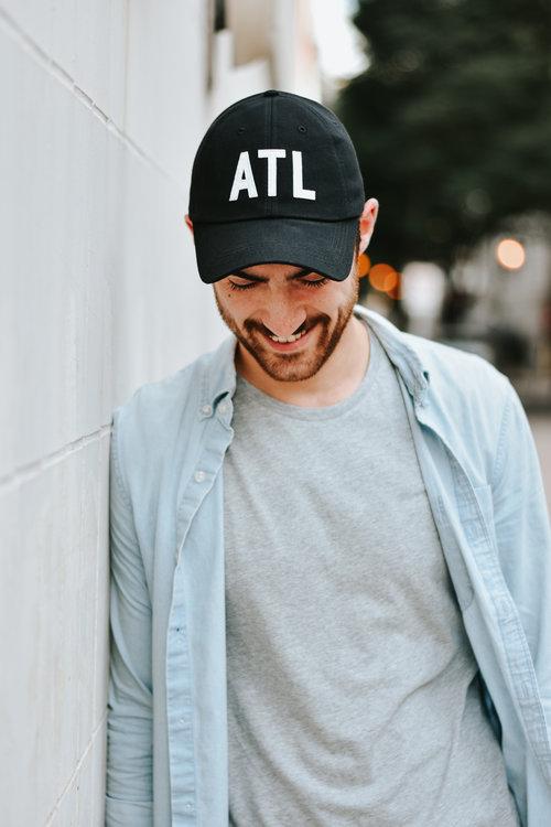 3d51276e4fe Black ATL Hat — The Merchant Atlanta