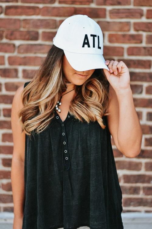 8719603b6af White ATL Hat — The Merchant Atlanta