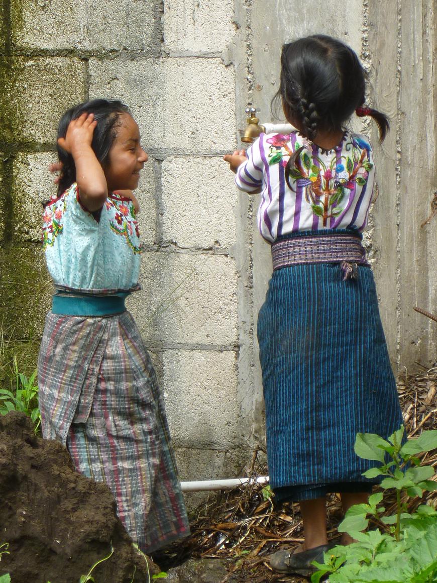 Water play, two girls .jpg