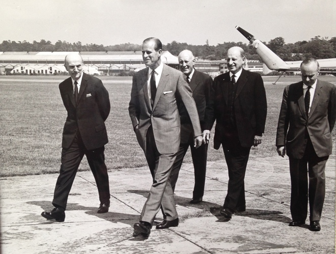 GRE with HRH Prince Phillip at Brooklands, Weybridge