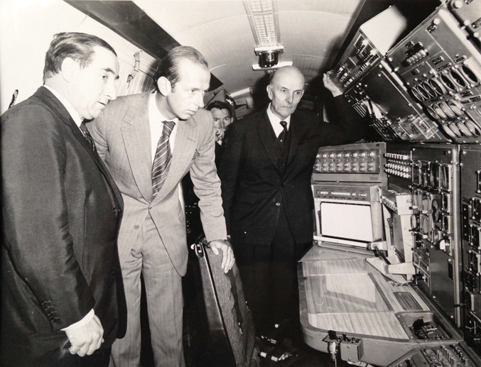 GRE shows the Duke of Kent a test Concorde