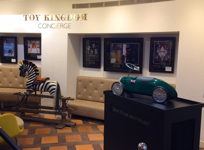 Bentley Blower - Harrods Toy Kingdom