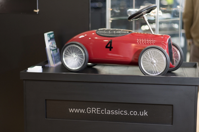 GRE Custom Car - Elite London exhibition.