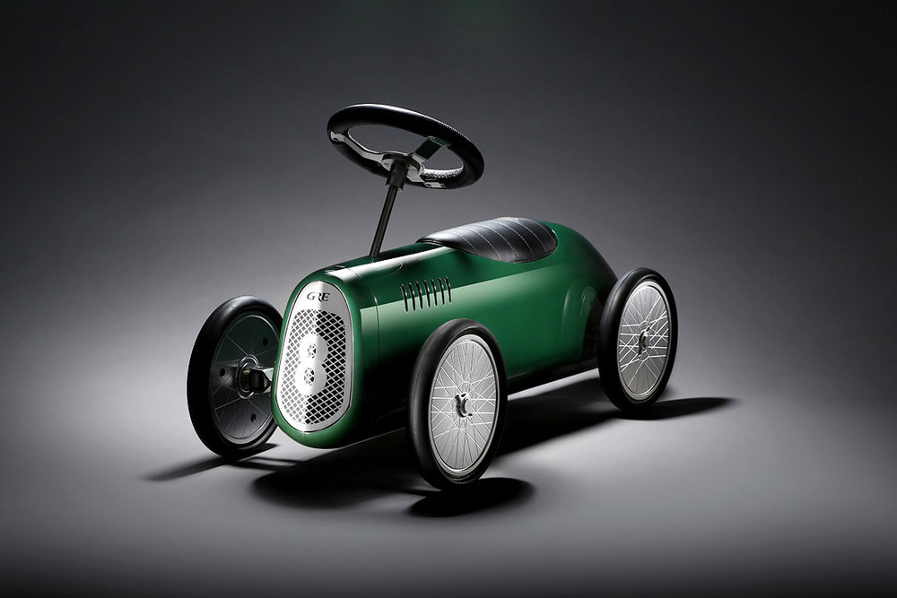 GRE Brooklands in British racing green
