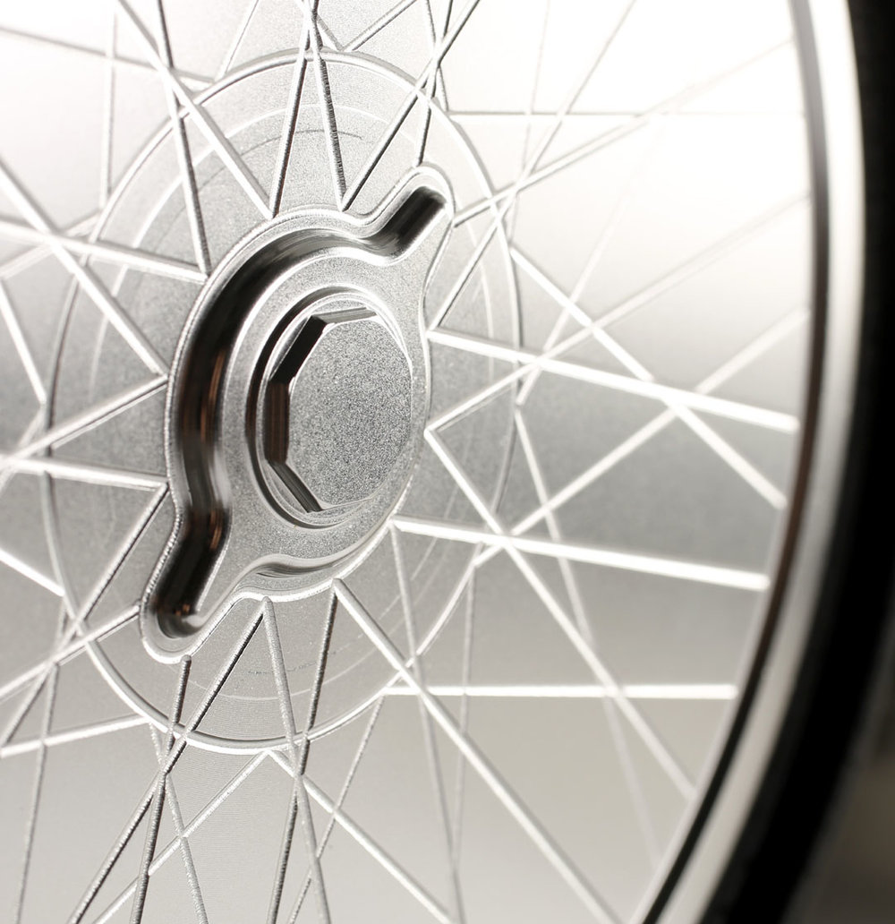Spoke effect racing wheels
