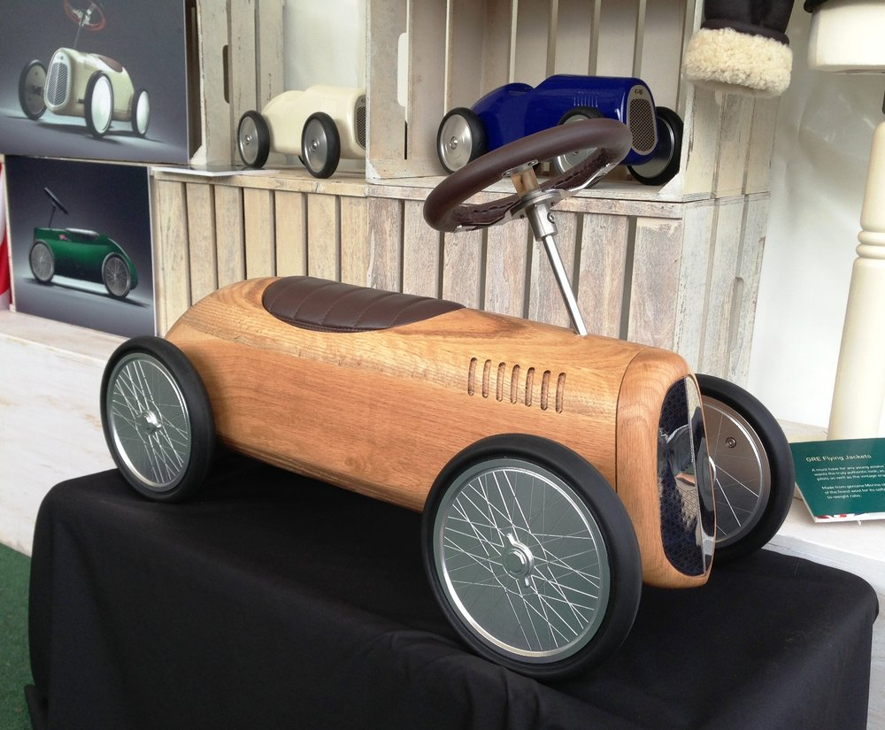 Natural Wood in Oak - Goodwood Revival.