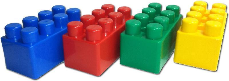 IMEX Jumbo Blocks (48 Pieces)